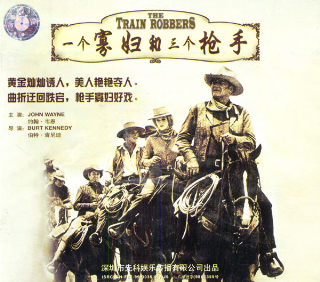 THE TRAIN ROBBERS(VCD2枚組)
